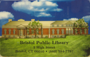 a library card