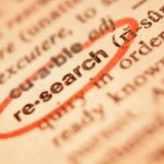 the dictionary entry of the word research
