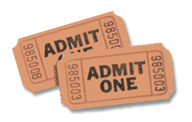 a pair of tickets