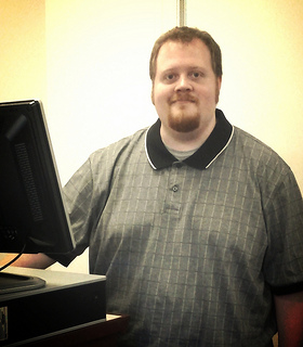 Our new Computer Lab Instructor, Chris Soper