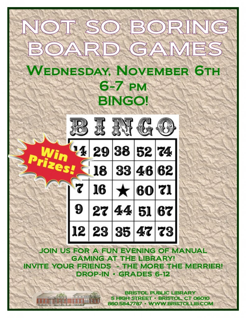 Bingo 11.6.13