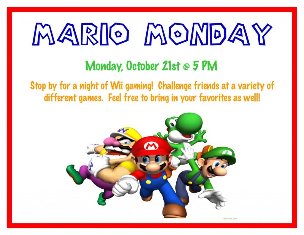 Mario Monday