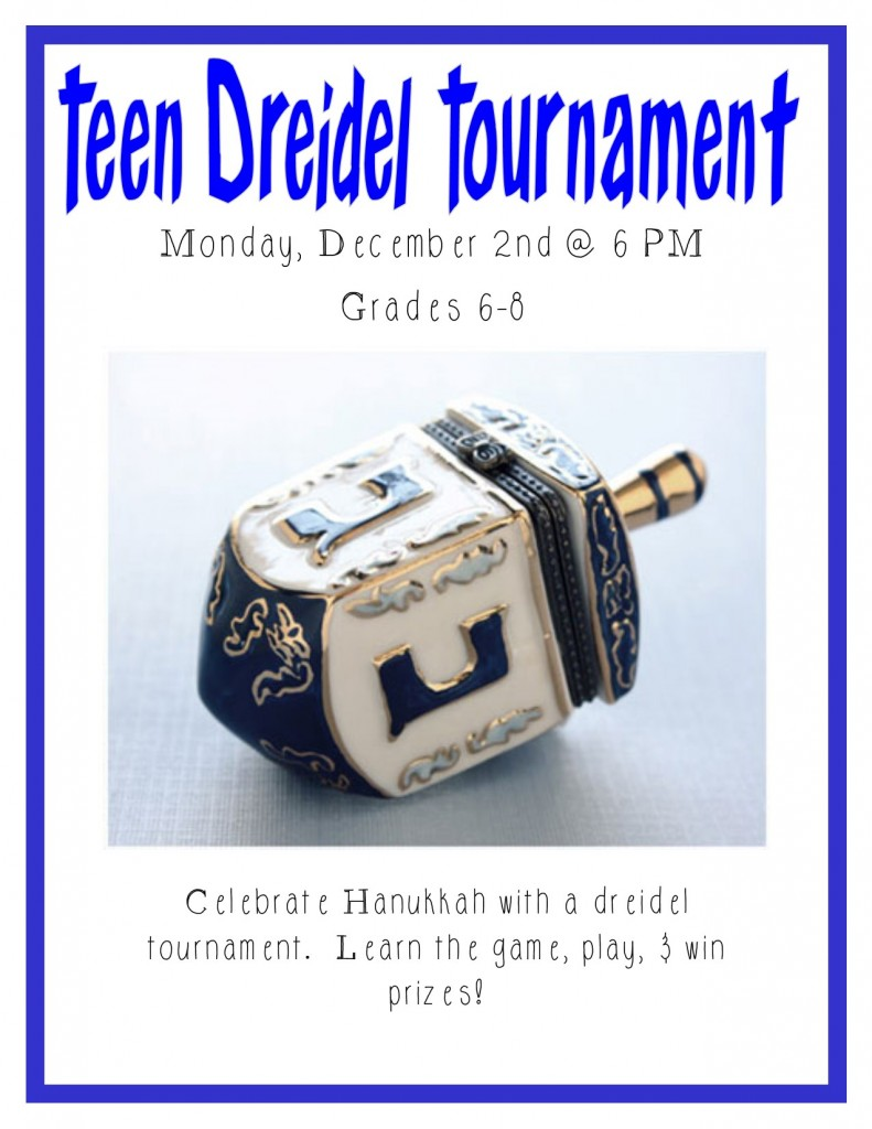 Dreidel Tournament