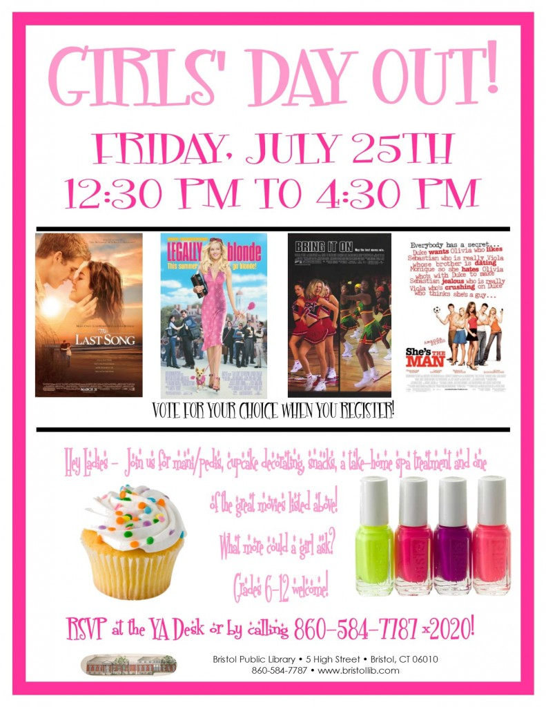 Girls' Day Out 7.25.14