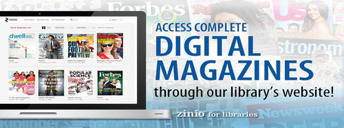 Zinio Digital Magazine Service