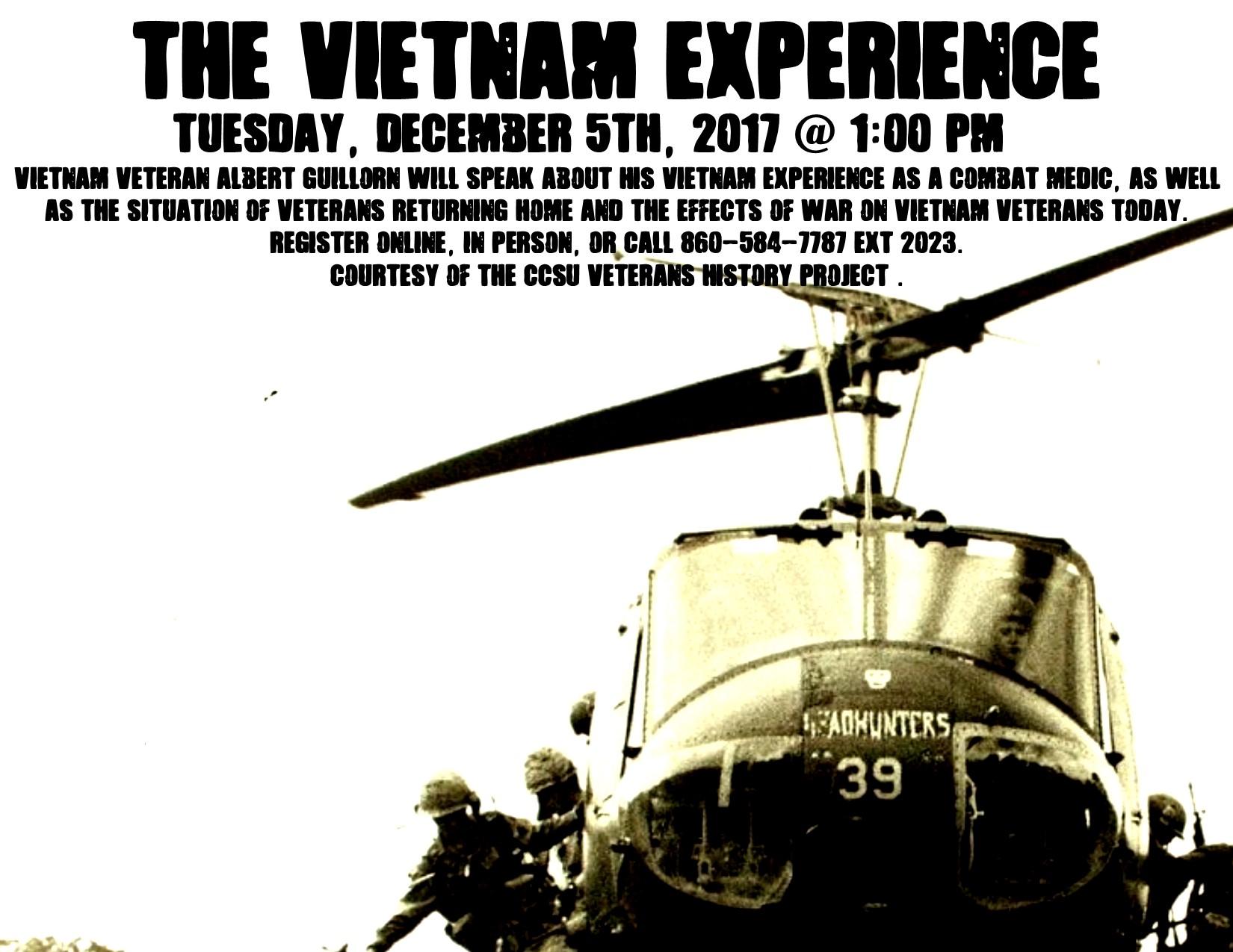 Presentation: The Vietnam Experience - Bristol Public Library