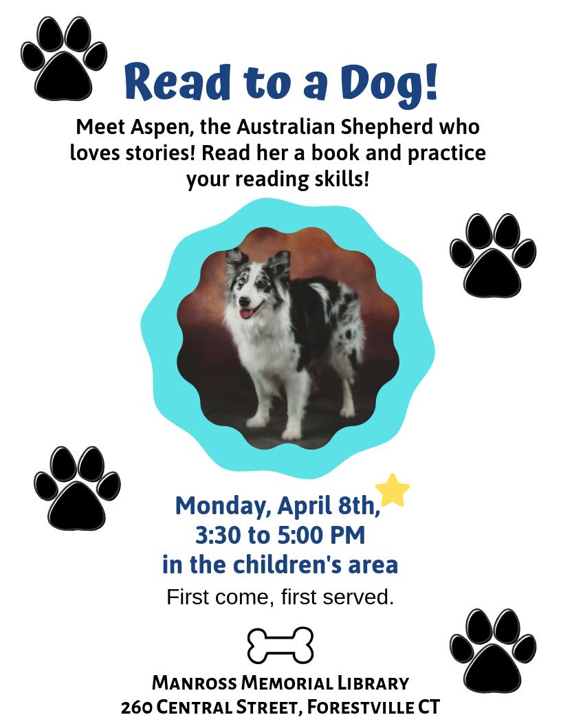 Read to a Dog! - Bristol Public Library